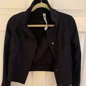 Lululemon zip up light weight moto jacket